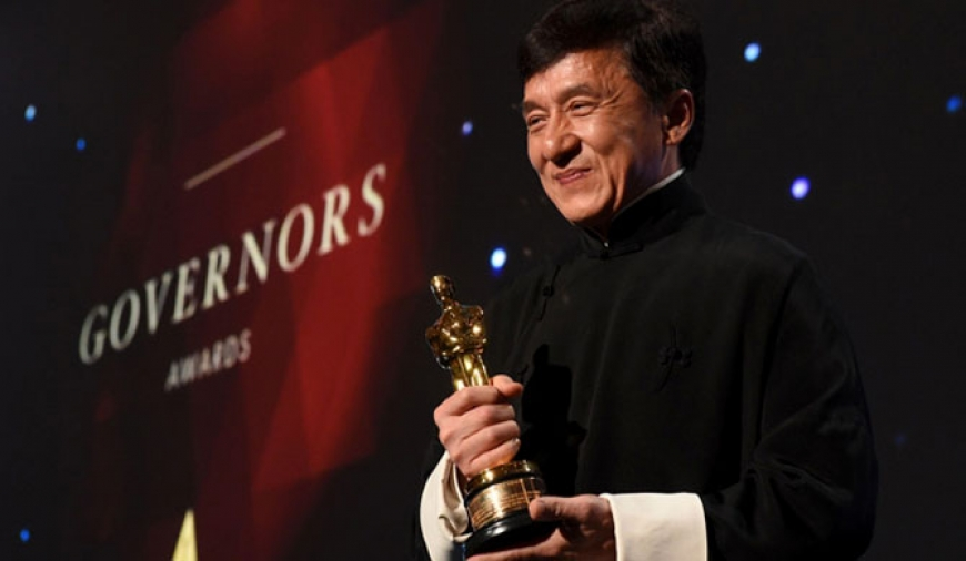 Jackie Chan awarded honorary Oscar