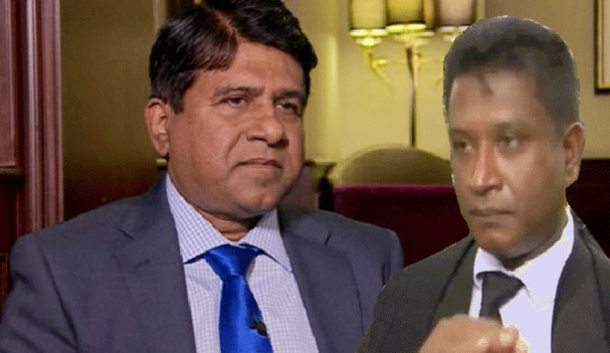 Lawyer Lakshan Dias given 24 hours (video)