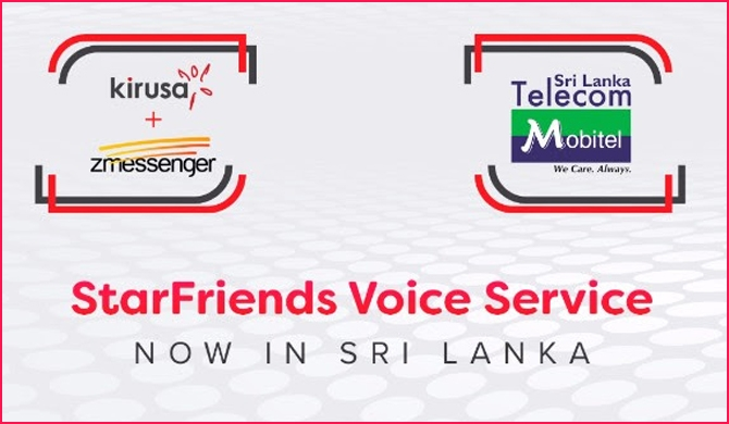 StarFriends Voice Service launched in Sri Lanka