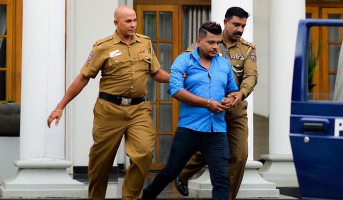 Ruwan Hettiarachchi arrested (Video)