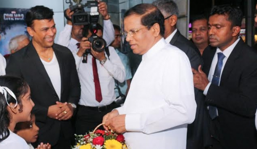 President goes to see 'Maya'