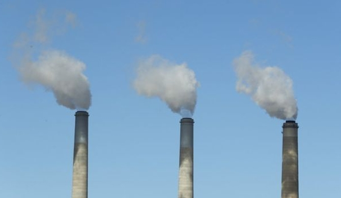 Record CO2 levels in atmosphere