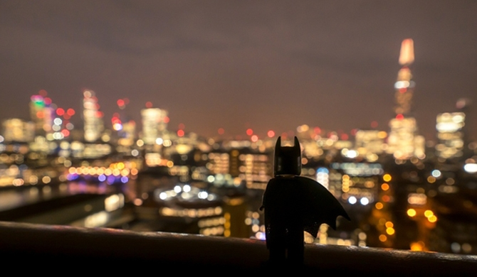 Batman in London!
