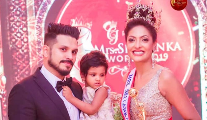 Sri Lanka's Caroline Jurie crowned Mrs.World 2020 (Video)