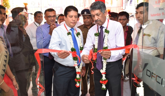 DFCC Bank opens fully-fledged branch in Pettah