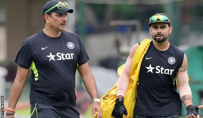 Ravi Shastri named Indian cricket coach