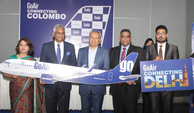 India's GoAir expands to SL with direct flights to Colombo