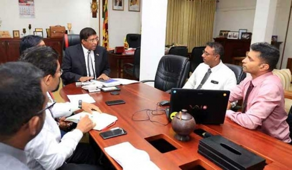 Rupasinghe meets Ravi with solution to power crisis!