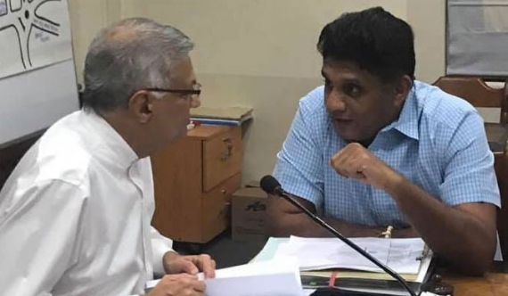 Sajith's election campaign in Ranil's hands!