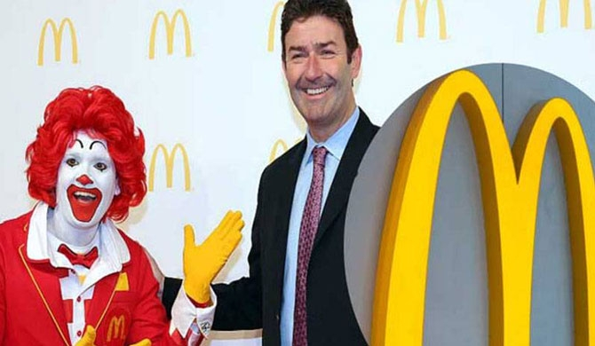 McDonald's CEO fired after dating employee