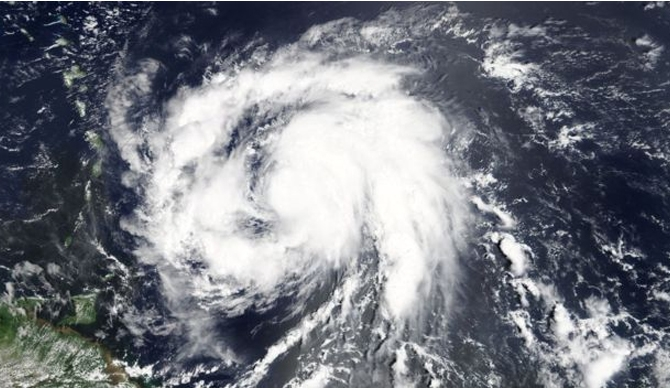 Maria hits the Caribbean