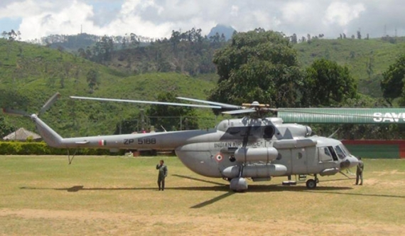 Technical glitch stops one of Modi's choppers in Sri Lanka