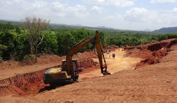 Rs. 98 million worth earth dug from state land