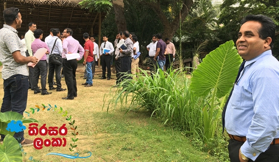 Media inspects preparations for Sustain Lanka nat'nl celebration