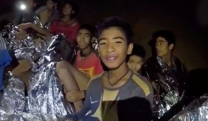Rescued Thai boys closely monitored in hospital