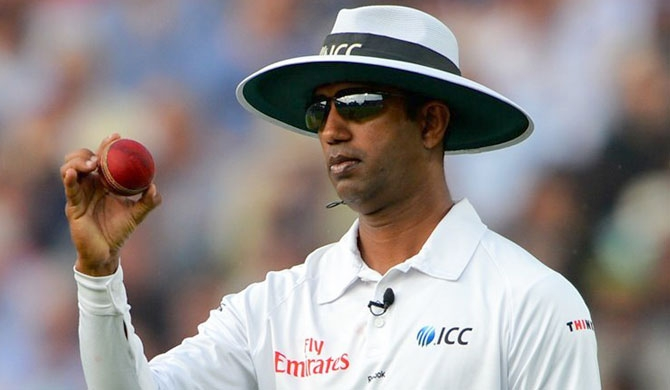 Dharmasena wins David Shepherd Trophy again