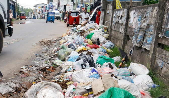 Abnormal increase in Colombo garbage disposal costs