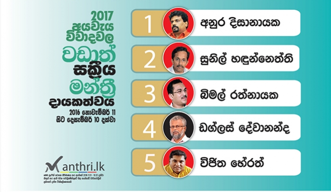 JVP made best contributions to budget debate