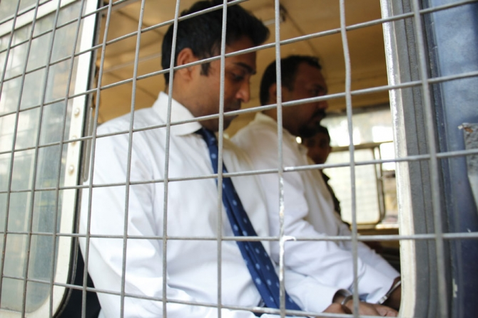 Arjun, Kasun admitted to prison hospital