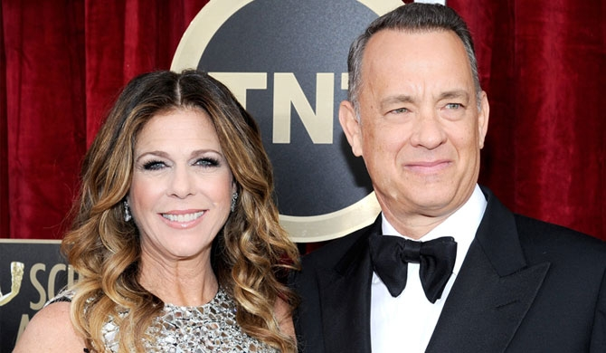 Tom Hanks & wife tested positive for Covid-19