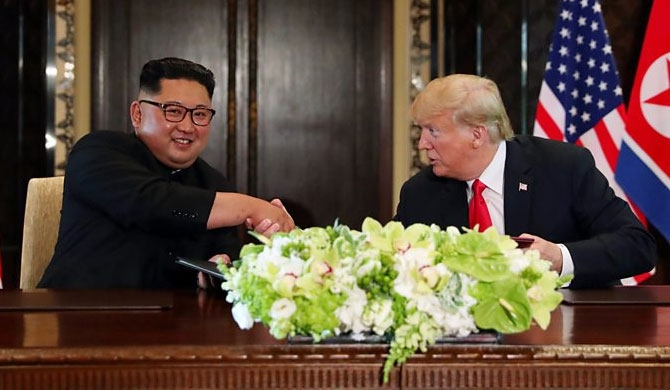 Kim talks, honest, direct & productive - Trump