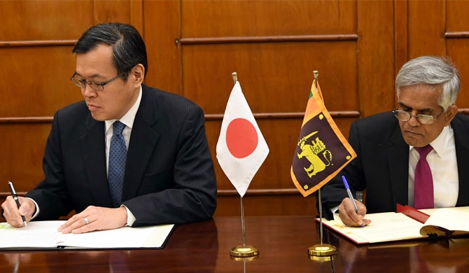 Japan provides Rs 1.6 b to assist SL's counter-terrorism efforts