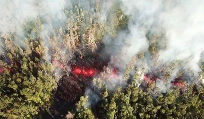 Evacuations ordered after Hawaii's Kilauea volcano erupts (Video)