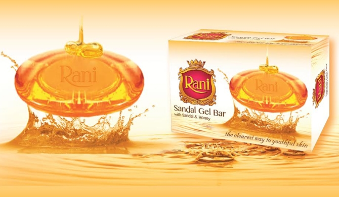 Swadeshi launches 'Rani Sandal gel bar'
