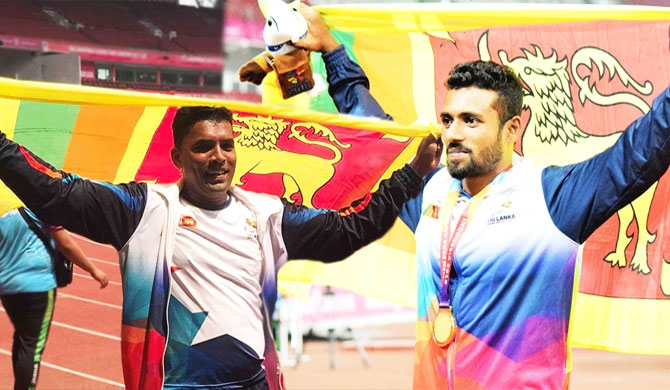 SL gets 2 more medals at Asian Para Games