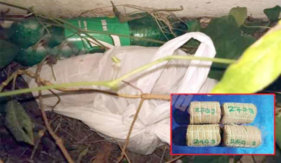 Navy recovers explosives in Jaffna