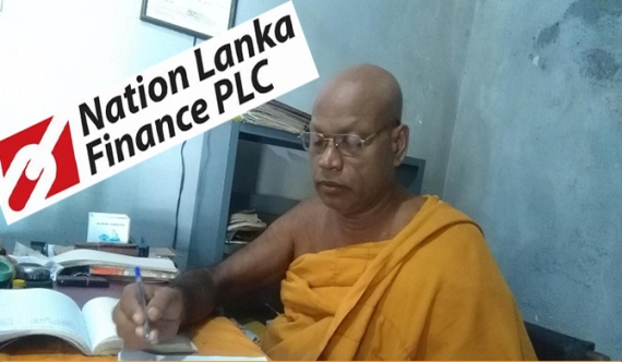 Nation Lanka Finance to 'pocket' late monk's money