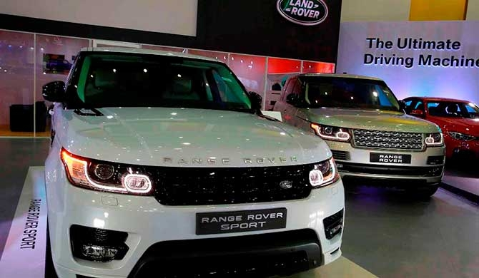 Jaguar Land Rover revs up CMTA Motor Show