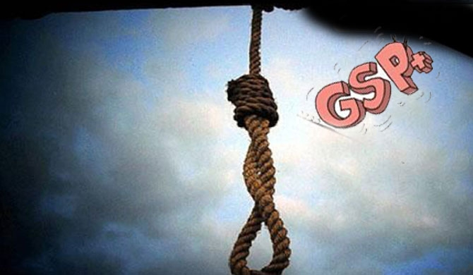 Death penalty implementation might adversely impact GSP+