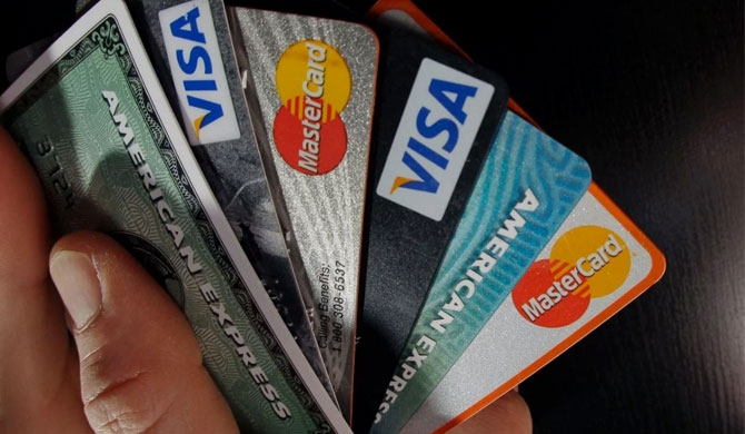 Credit card balance exceeds Rs. 100 b