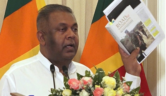 Mangala admits book proves war crimes (video)