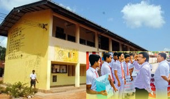 Jaffna students engage in protests
