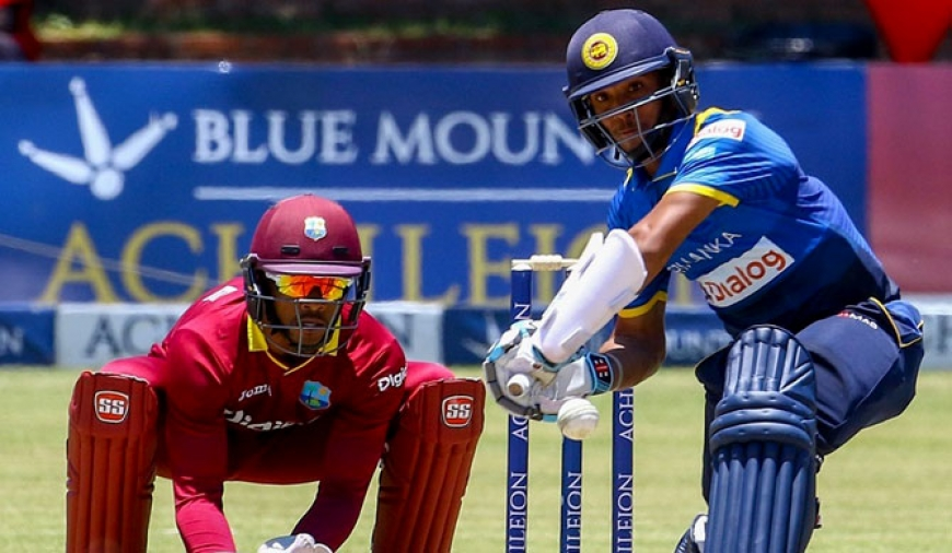 Sri Lanka survive Lewis' 148 for thrilling win