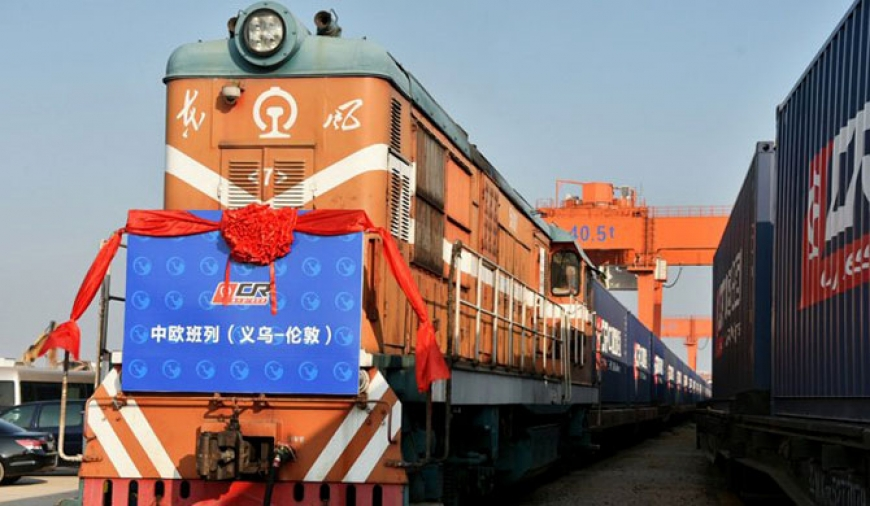 'China freight train' leaves for UK