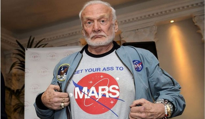 Buzz Aldrin sues children