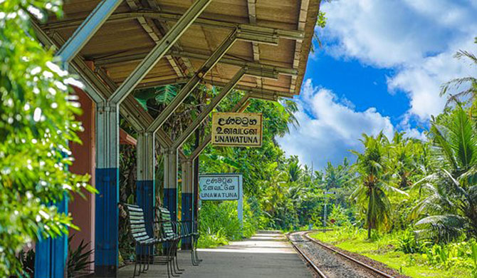 Unawatuna station temporarily closed