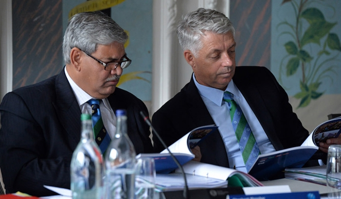 Manohar resigns as ICC chairman