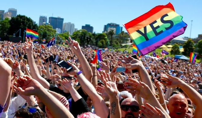 Austraila decisives backs gay marriage
