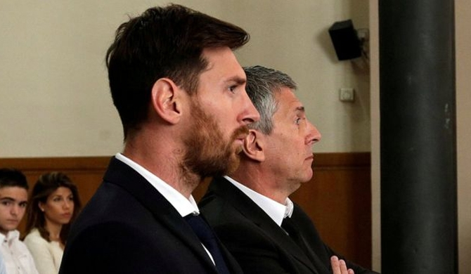 Messi gets 21-month jail term