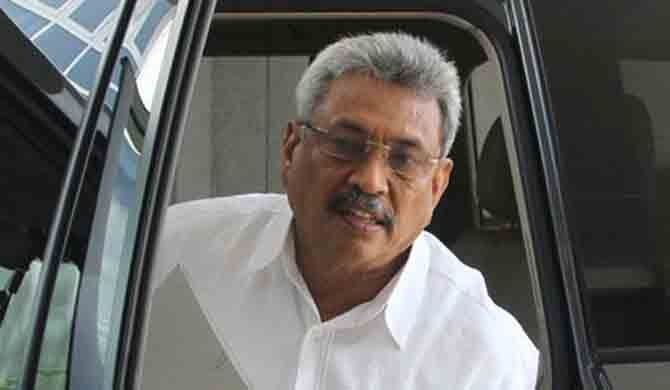 Gota permitted to travel overseas