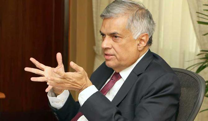 South Asia needs a humanitarian response to the COVID-19 pandemic : Ranil Wickremesinghe