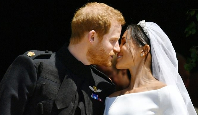 Meghan - Harry weds (Pics)