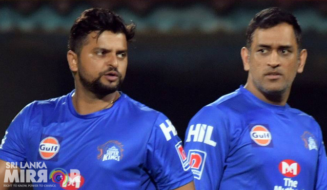Dhoni, Raina announce retirement from international cricket