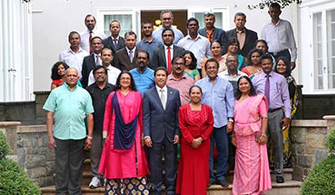 SL artistes felicitated in Washington DC