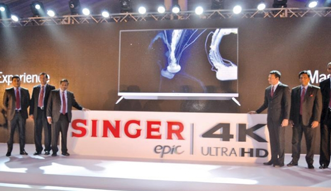 SINGER launches their own 4K Ultra HD Smart TV Lineup