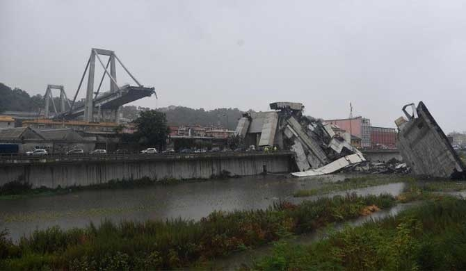 Grief and anger at Italy bridge collapse